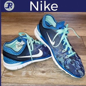 👟Nike Free TR Fit 5 Training/Running Shoes-Blue